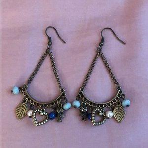 Dangly Charm Earrings
